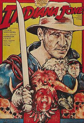 Indiana Jones And The Temple Of Doom  1984  Harrison Ford Movie Poster Print 9
