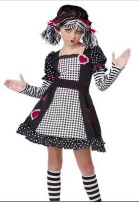 Rag Doll Costumes (California Costumes Rag Doll Child Size)