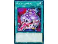 Secret Rare Yu-Gi-Oh Pot of Avarice LCJW-EN290 1st X3!