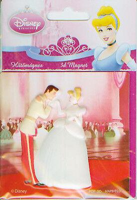DISNEY Princess 3D Magnet  8,0 x 8,5 cm  Kühlschrankmagnet neu/OVP