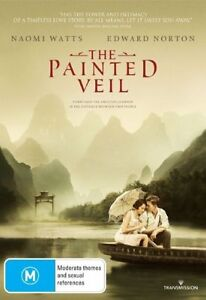 THE PAINTED VEIL, NAOMI WATTS EDWARD NORTON, REGION 4, NEW AND SEALED FREE POST