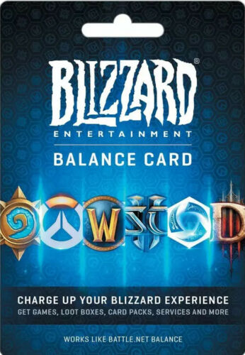$100 Blizzard Balance Digital Code for Battle.net Balance