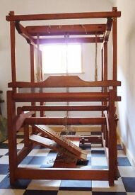 "Floor Weaving Loom with 12 shafts, ""Thurin"" Swedish make, similar to a Glimakra"