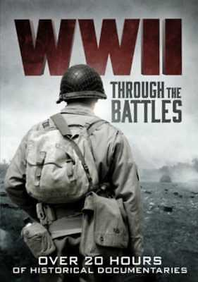 WWII: Through the Battles (War in the Pacific / D-Day: The Invasion: NEW DVD
