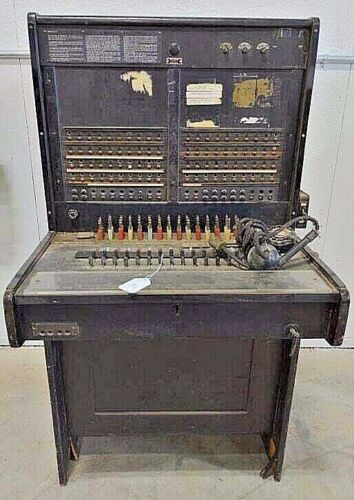 Western Electric Bell System 551-A PBX Switchboard Circa-1920