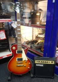 Bluerock Guitar with Amp