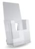 Clear Acrylic tri-fold Brochure Holders top quality Made USA