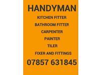 KITCHENS FITTER - BATHROOM FITTER - CARPENTER - TILER - HANDY MAN IKEA FLAT PACK FIXER BUILDER