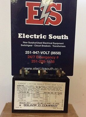 Square D Current Limiting Module Class 9999 Clm-3 3 Pole