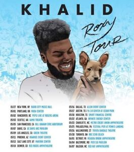 Khalid Roxy Tour (May 30)