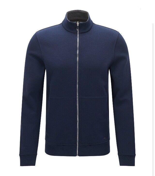 Hugo Boss Reversible Sweatshirt Jacket - Size Large