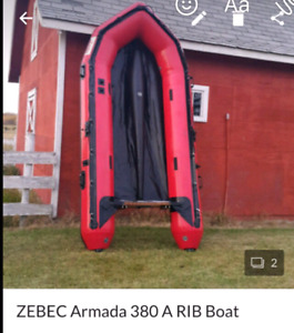 Zebec 380A inflatable boat
