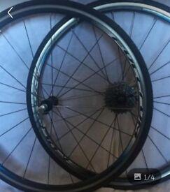 Light Fulcrum 5 racing wheels size 700c