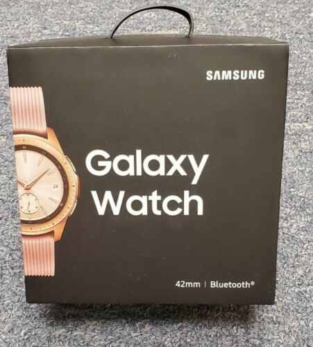 Samsung Galaxy Watch SM-R810 42mm Bluetooth Rose Gold Pristine