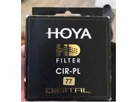 Hoya had filter cir pl 77