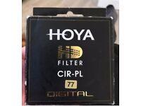 Hoya had filter cir pl 77