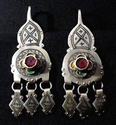 South Morocco Tiznit region Judaica silver ring and Star of David Morocco