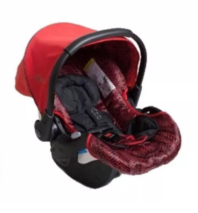 nd New Icoo IGuard Infant Car Seat - Red - Inc Cosytoes | in ...