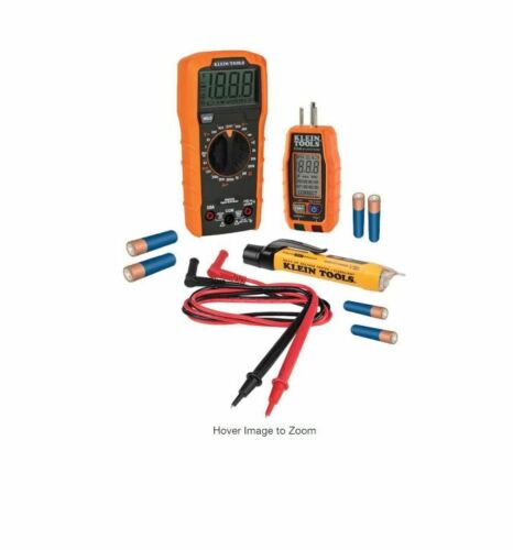 Klein Tools 69355 Multi-Meter, Voltage Tester Outlet Tester Premium Electric NEW