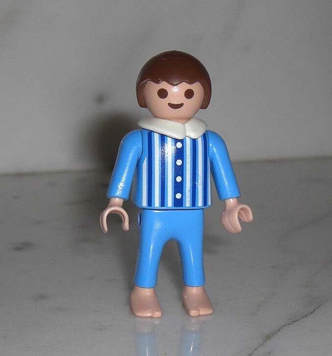Playmobil Nostalgie rosa Serie Figur Junge im Schlafanzug v Badezimmer Set 5324