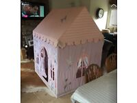 Girls Win Green Fairy Cottage Playhouse