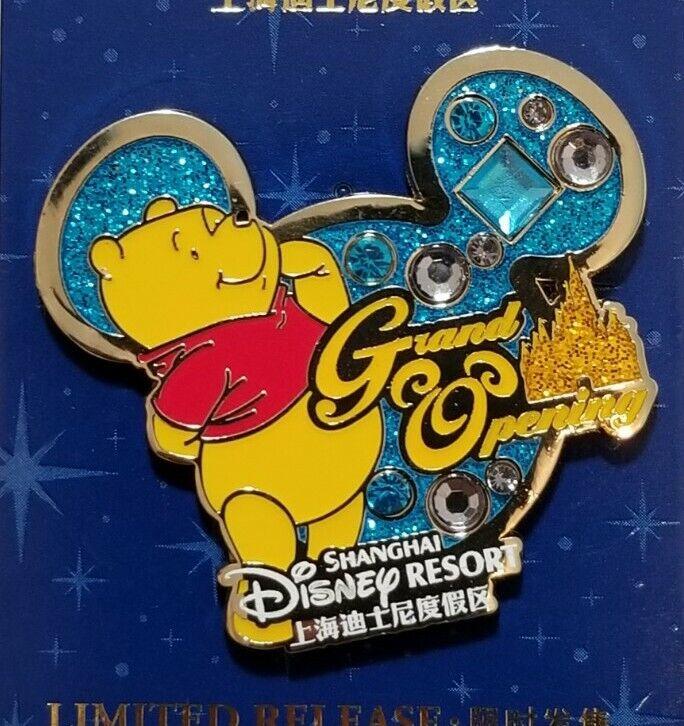 Shanghai Disneyland Disney PIN Winnie The Pooh Limited Release Pin#119364 NEW