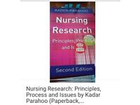 Nursing Research Book - principles process and issues