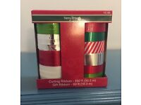 New Holiday Christmas Season Gift Curling Ribbon 3//16 in 25 ft X 70 ft Assorted