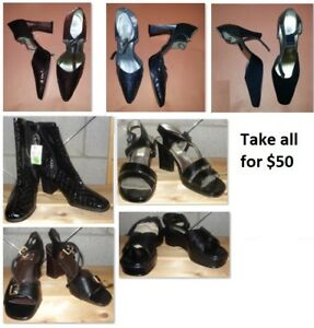 Size 7.5 Ladies Shoes Lot (Take all for $50)
