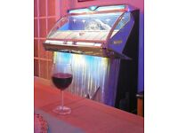Wurlitzer Jukebox for sale. Model 2304 made in 1959, Wurlitzers first stereo Jukebox.
