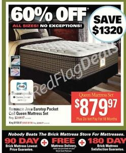 Queen size Sealy Posturepedic Eurotop mattress - PRICE REDUCED!!
