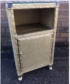 Vintage Lloyd Loom Bedside Cabinet in original condition.