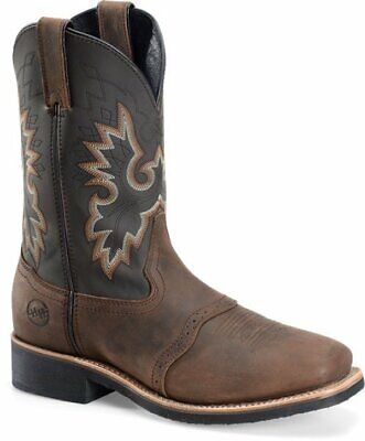 Double H Boots DH4258 Tan Crazy Horse Brand New In Box