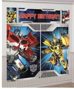 Transformers decorations