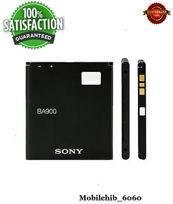 Replacement BATTERY For SONY ERICSON BA900  Xperia J / L / M / TX / GX -1700MAH, used for sale  DELHI