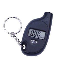 Mini LCD Digital Tire Tyre Pressure Gauge Key chain For Car Bike Scooter Cycle by Aeoss