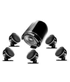 Focal Dome 5.1 surround sound speaker setup.