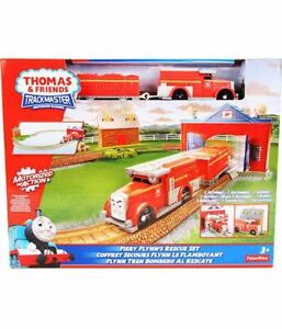 Thomas and Friends Trackmaster Fiery Flynn's rescue set