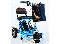 Mobility Scooter Lightweight, foldable, transportable, light Lithium-ion battery 25 stone capacity