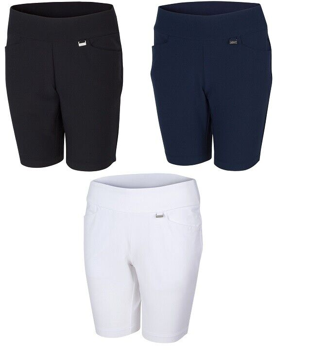 Greg Norman Womens Pull-On Stretch Golf Short G2S21H525 - New 2021