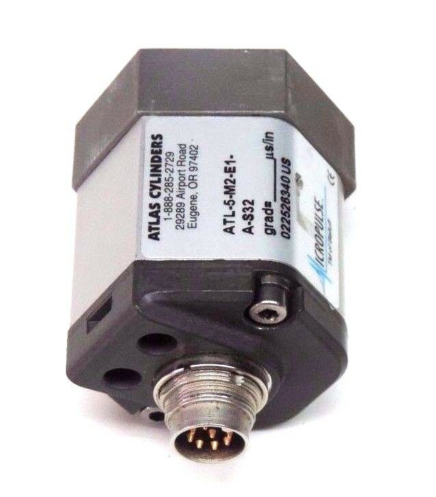 ATLAS CYLINDERS MICROPULSE ATL-5-M2-E1-A-S32 TRANSDUCER ATL5M2E1AS32