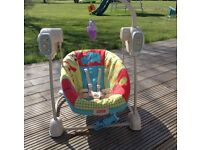 Fisher Price Space Saving Baby Swing and Seat