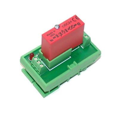 Opto 22  Odc24  Solid State Relay Wphoenix Contact Din Mount Output Module