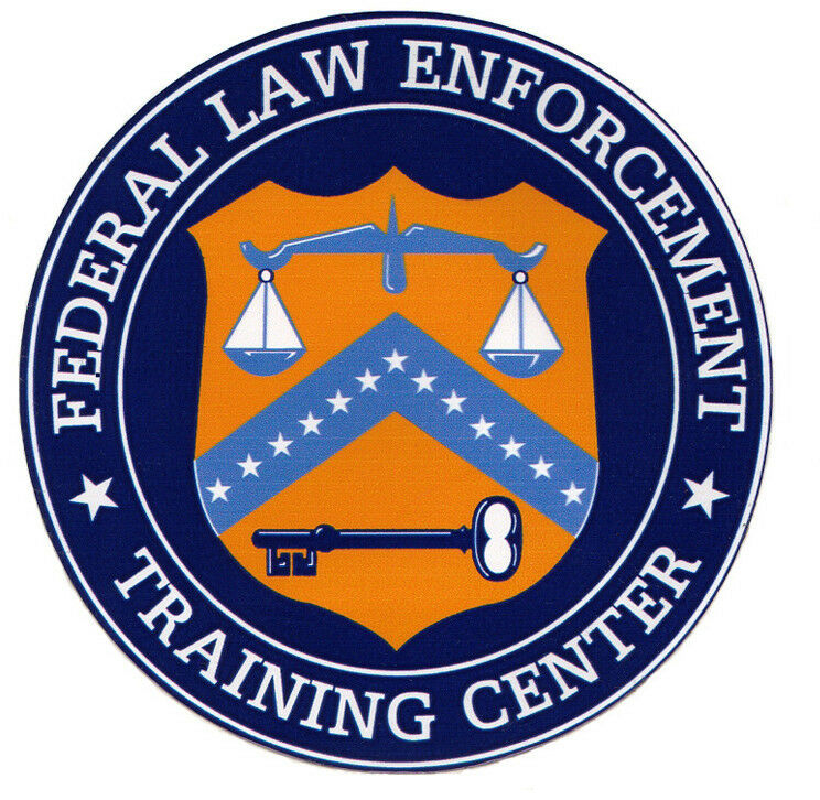 FLETC - Federal Law Enforcement Training Center Decal, Police, Federal Agent