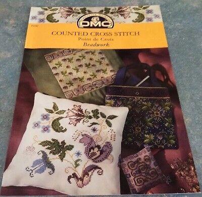 Dmc Cross Stitch Pattern/chart Books Beadwork