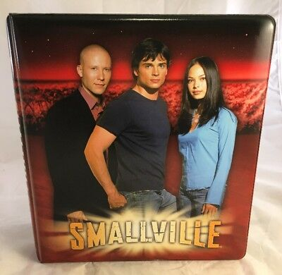 New Smallville Season 2 Trading Card Binder Inkworks