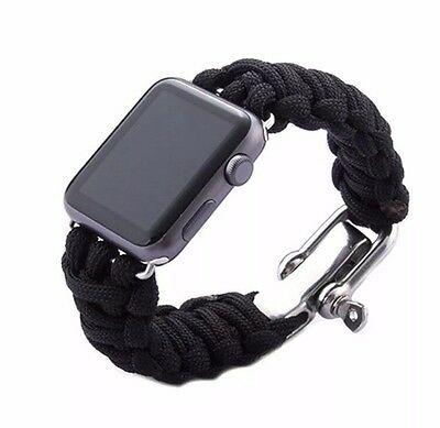 Apple Watch 42mm Adjustable Paracord Band