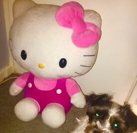Very rare giant genuine hello kitty teddy