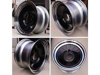 """17"""" smoothie steel wheels,off road,4x4,pickup"""