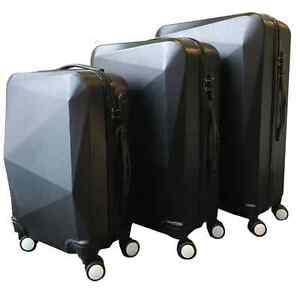 3pc Black Luggage Set - Perfect for Holiday Travel Lane Cove Lane Cove Area Preview